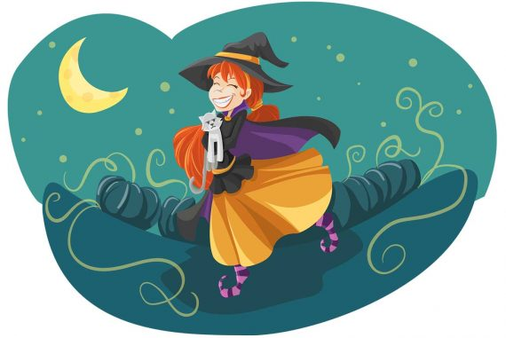 Poems for kids The Witch With a Heart Halloween poems