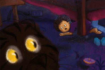 bedtime stories Under My Bed short stories for kids header