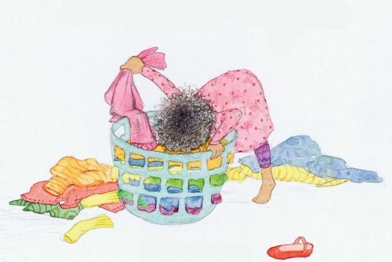 Bedtime Story I Can Dress Myself short stories for kids header illustration