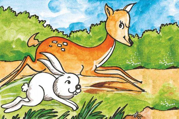 Bedtime Stories Smile Please short stories for kids header illustration
