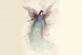 Fairy Tales illustration Japanese Princess Hase