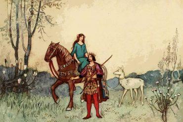 Fairy Tales Princess Belle Etoile bedtime story illustration