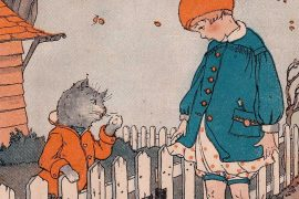 Fairy Tales illustration The Cat Who Could Eat So Much