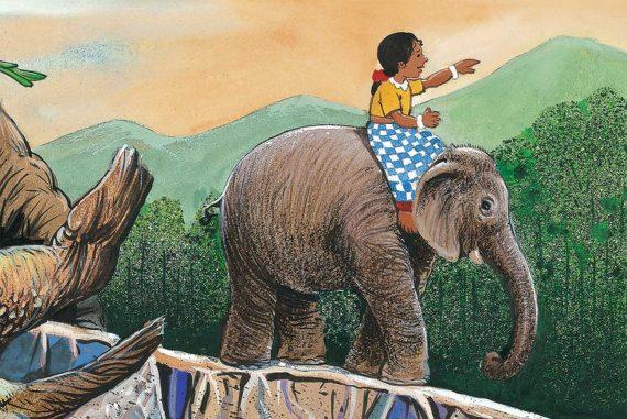 Bedtime stories Jungle Brew short stories for kids header illustration