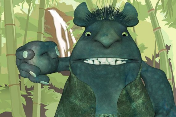 Chinese fairy tales The Kingdom of the Ogres