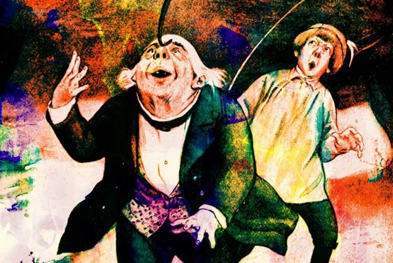 Fairy Tales The Six Sillies story illustration