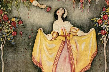 The Princess of Canterbury fairy tales illustration