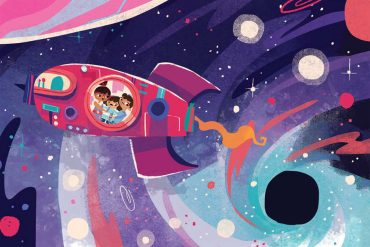 Bedtime Stories There's a Hole in my galaxy header