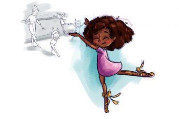 Bedtime stories Dance Mihlali stories for kids header illustration