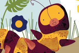 Bedtime Stories Wiggle Jiggle Short Stories for kids header illustration