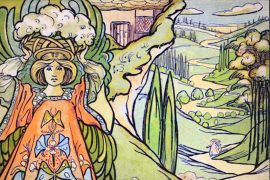 Fairy Tales Princess Mayblossom illustration