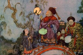Fairy Tales illustration Chinese Fairy Tales