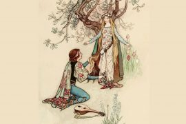 Fairy Tales illustration Prince Darling by Andrew Lang