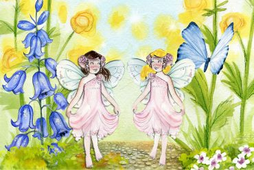 Fairy Tales Stories - Golden Rod and Purple Aster