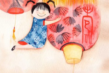 bedtime stories Janice Goes To Chinatown short stories for kids header illustration