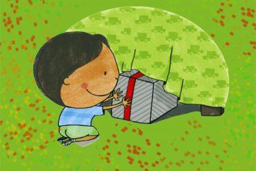 Christmas stories for kids Sams Christmas Present header
