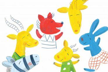 Short stories for kids Mama Antelopes House bedtime stories header