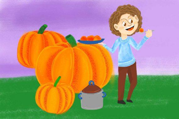Nursery rhymes Peter Peter Pumpkin Eater kids songs