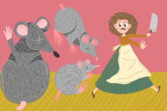Nursery rhymes Three Blind Mice kids songs