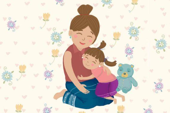 Bedtime Stories I Love My Mom Free Books Online header illustration