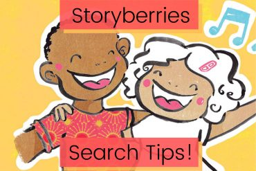 Finding free kids books to read online at Storyberries