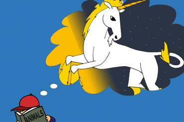 Fairy Tales The Missing Unicorn bedtime stories for kids illustration