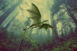 Fairy tales The Dragon of the North short stories for kids