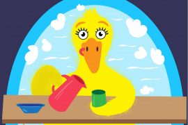 Fluffy Duck In the Tub Free Phonics Books Online Bedtime stories