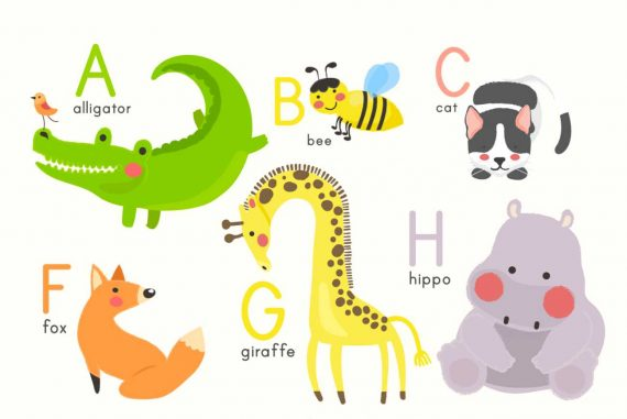 Animal Antics ABC - Free alphabet book for kids - Storyberries
