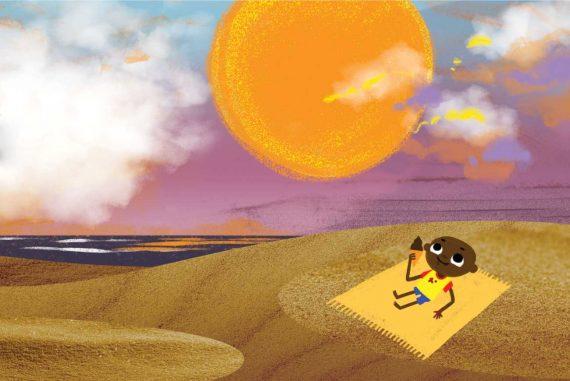 Bedtime Stories Lesedis Sandbox short stories for kids header