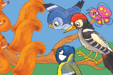 Bedtime stories Tails in a Tangle free books for kids header