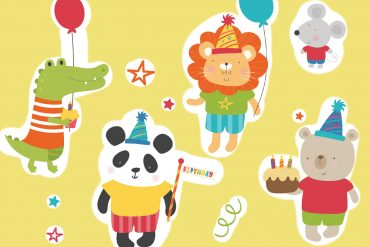 Bedtime stories - The Birthday Counting Book - free books for kids - Number 5Bedtime stories - The Birthday Counting Book - free books for kids header