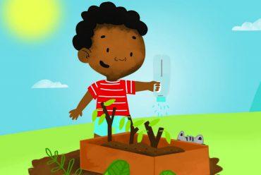 Bedtime stories My Little Garden free books for kids header