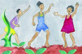 Bedtime stories O Rain Come free books for kids header