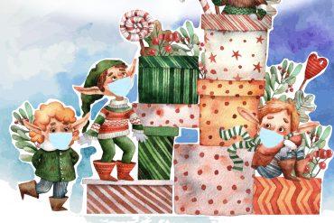 Bedtime Stories for COVID Xmas | Dear Santa | Poems for Kids