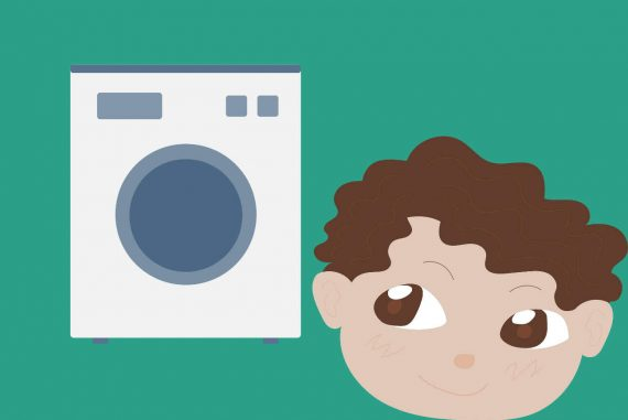 poems for kids washing machine childrens poetry illustration