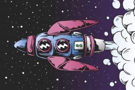 short stories for kids The Spaceship bedtime stories header