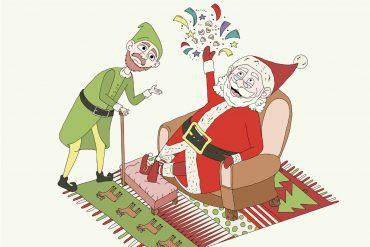 Christmas bedtime stories Xmas Cracker short stories for kids header