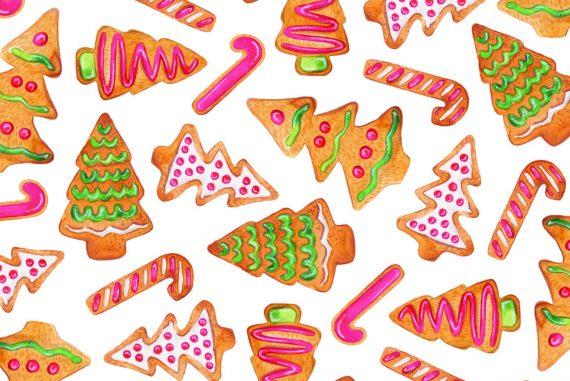 Xmas bedtime stories Christmas Biscuits short stories for kids header illustration