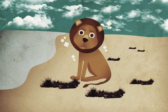 Bedtime stories Smelly Simha free kids books online header illustration