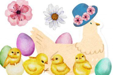 Bedtime stories Mama Chicks New Easter Hat free kids books online header