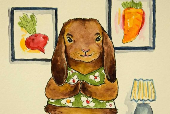 Bedtime stories This Rabbit by Clancy Easter tales for kids header